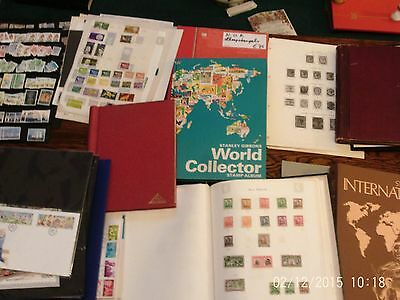Box 1 Large Box Of Stamp Albums And Stamps