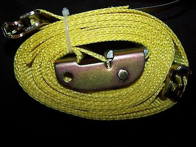 """NEW  2"""" x 12' Logistic Cam Buckle Strap  W/Spring E Fitting PP6639"""