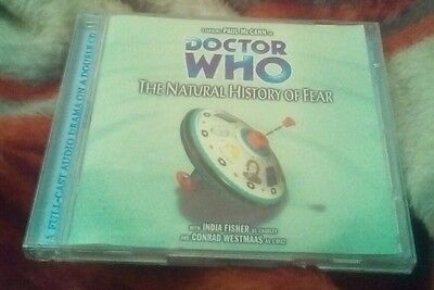 Doctor Who/big Finish  - The Natural History Of Fear Double Cd Audio Book