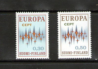"""Finland  """"Europa"""" pair..    M.N.H.       69p ask."""