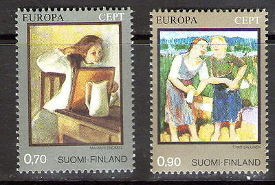 """Finland  """"Europa"""" pair..    M.N.H.       49p ask."""
