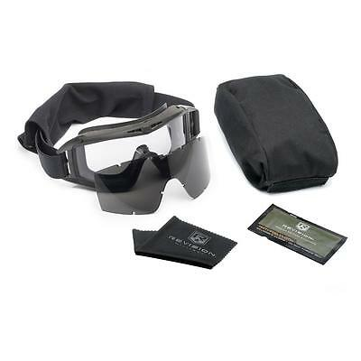 New US Army Genuine Issue Revision Black Desert Locust Military Goggles