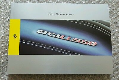 Ferrari GTC4Lusso Owner's Manual Italian Version
