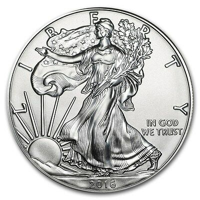2016 American Silver Eagle Bu Uncirculated Spot Free