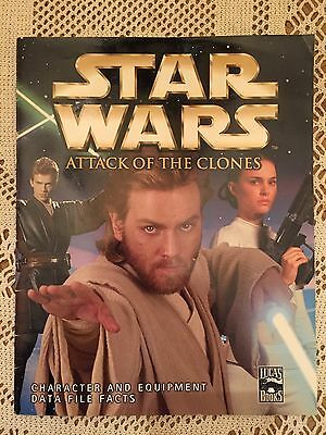 Star Wars Attack Of The Clones Data File Facts Lucas Books