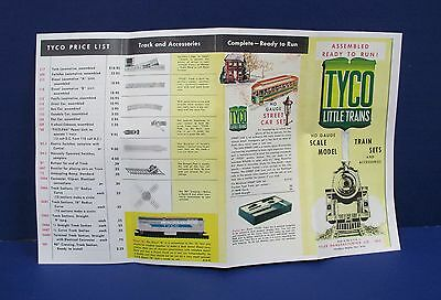 Early Tyco Little Trains Tyler Mfg HO Train Catalog Reprint