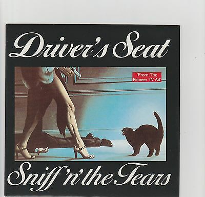 "Sniff n' The Tears-Driver's Seat UK 7"" vinyl single"
