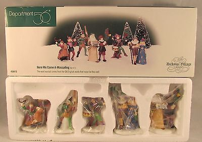 Dept 56 Dickens Village Here We Come A-Wassailing Set of 5 58410