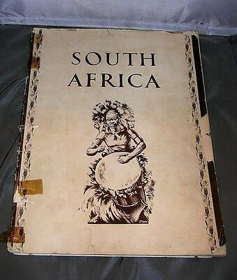 c1936 South Africa Souvenir Book - South African Railways Airways Harbors Travel