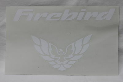 98-02 Firebird Rear Tail Light Filler Panel Decal White