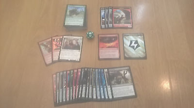 Magic Mtg Stack Of 80+ Cards And Spindown D20 Gained At Aether Revolt Prerelease