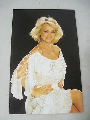 Barbara Mandrell Unused Postcard 1980's Published By Coral-Lee