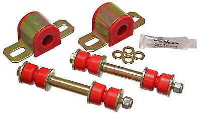 Energy Suspension 3.5131R 34mm Front Sway Bar Set for GM