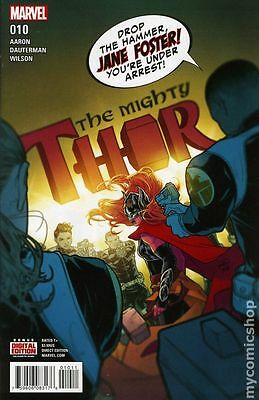 Mighty Thor (2015 2nd Series) #10A FN