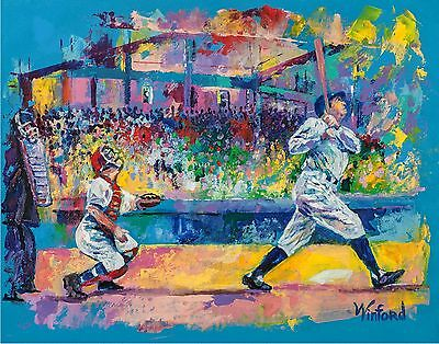 70% Sale Babe Ruth 14 X 11 Canvas & 2 Prints Signed By Painter To Stars Winford
