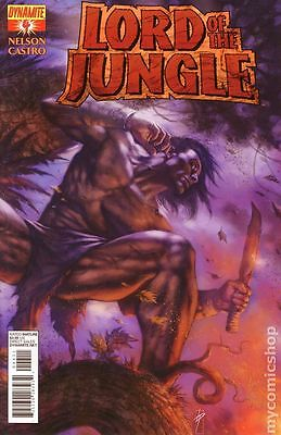 Lord of the Jungle (2011 Dynamite) #4A FN