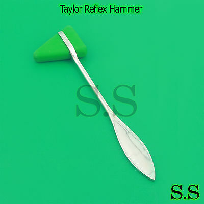 Green Taylor Percussion Tendon Neuro Reflex Hammer Medical Tool