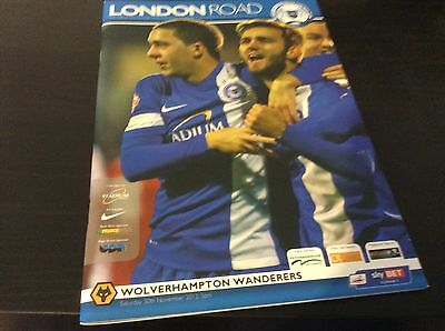 Peterborough United v Wolverampton Wanderers 2013-14