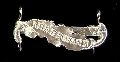 Crimea Medal Clasp Inkermann Solid Silver