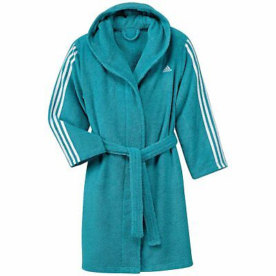 adidas Kinder Bademantel 3 stripes bathrobe