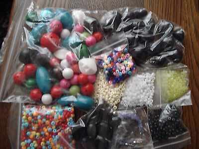 Mixed lot of beads