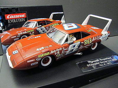 Carrera Evolution 27398 Plymouth Superbird #8 1/32 Scalextric Compatable