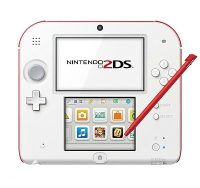 Nintendo 2DS -4GB Memory Card - White & Red