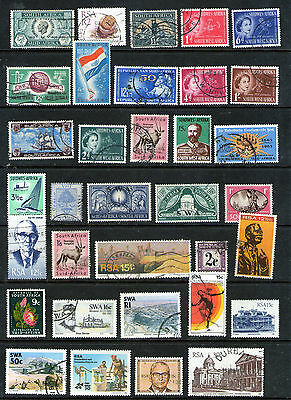 Selection of SOUTH AFRICAN Stamps.     69p ask.