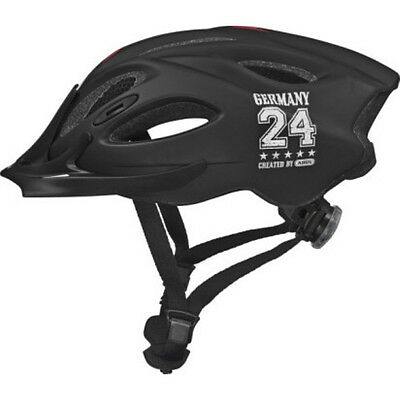 Abus Allround Touren Fahrradhelm Aduro college black Gr: 52-58 cm