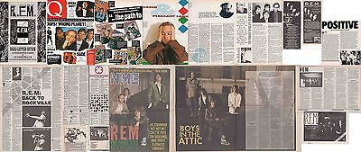 R.E.M. : CUTTINGS COLLECTION -1980s- adverts interviews