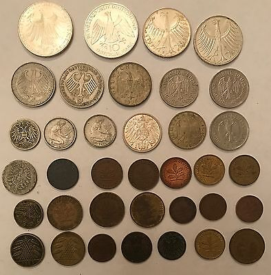 Lot of 36 Germany Coins