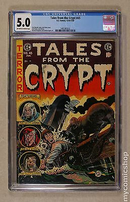 Tales from the Crypt (1950 E.C. Comics) #45 CGC 5.0 (1401361012)
