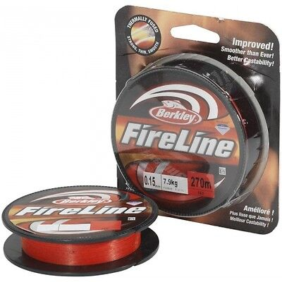 Berkley Fireline Braid Red 125 yards / 110m  *NEW* - CLOSING DOWN SALE!