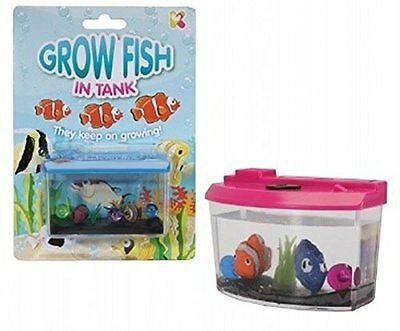 Grow Your Own Fish in a Tank Childrens toy - Christmas Stocking Filler gift