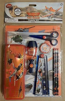 New Disney Planes Fire & Rescue 11 Piece School Supply Kit