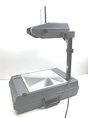 3M 2000 Overhead Projector Briefcase Style Portable Good Working Quality Unit
