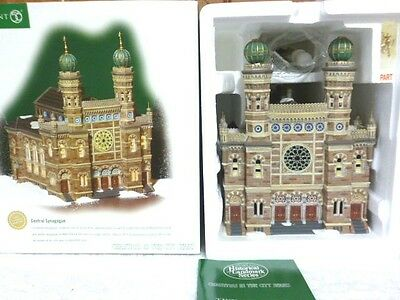 Dept 56 Christmas In the City Central Synagogue - 59204