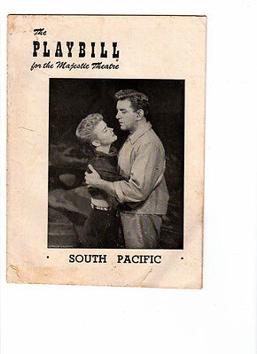 WoW! The Playbill for the Majestic Theatre! South Pacific! Week Dec.1, 1952!