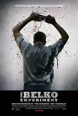 Belko Experiment - original DS movie poster - 27x40 D/S