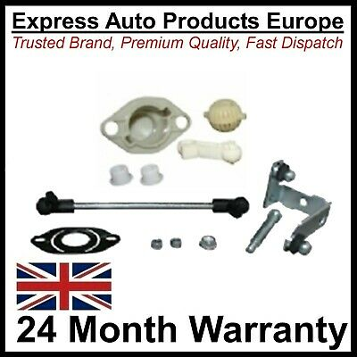 12pc Gear Shift Repair Kit Linkage Rods Yoke Bushes VW Golf Mk3 Manual