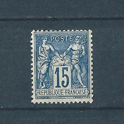 Timbre de France Sage type II N°90 Neuf** - Cote 90€