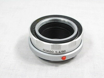 LEICA OUAGO 1:4/90 90mm LENS HELICOID FOCUS ADAPTER MIN