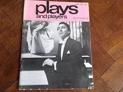 Aug.1974,plays And Players Magazine,  Playtext, Golden Pathway Annual Act I,