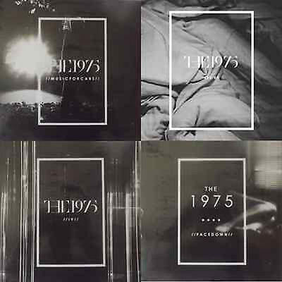 THE 1975 - MUSIC FOR CARS, SEX, FACEDOWN, IV ALL 4 VINYL EP's  NEW AND SEALED