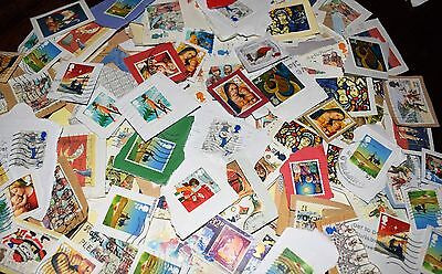 1 Kilo GB Christmas Commemorative Used Stamps Kiloware,Direct from Charity