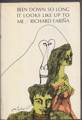 RICHARD FARINA ~ BEEN DOWN SO LONG IT LOOKS UP TO ME 1st/1st 1966 hc/dj