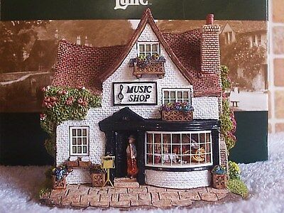 Lilliput Lane .. THE RIGHT NOTE .. Much Wenlock - Shropshire .. BOX & DEED