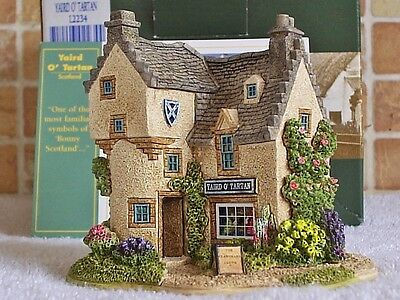 Lilliput Lane .. YAIRD O' TARTAN .. British - Scotland Collection ..