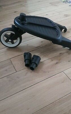 Bugaboo buggy board with adaptors for Camelon
