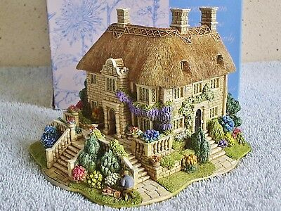 Lilliput Lane .. RIVER MEADOW MANOR .. Hammoon - Dorset .. BOX & DEED